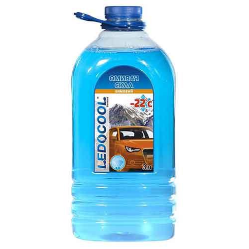 Зимовий омивач для скла ТМ LedoCool -22°С/ 3л