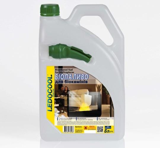 Топливо для биокаминов TM LEDOCOOL 5 л.