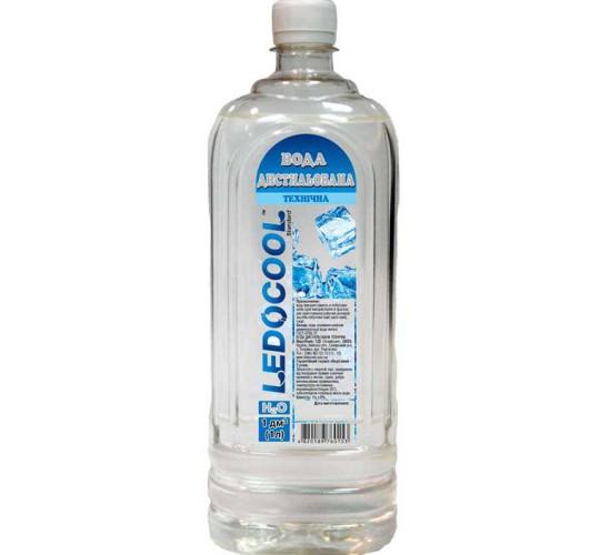 Дистиллированная вода ТМ LedoCool 1л