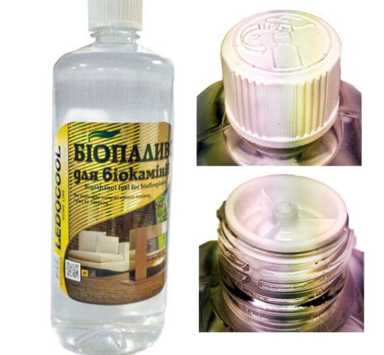 Топливо для биокаминов TM LEDOCOOL 1 л.