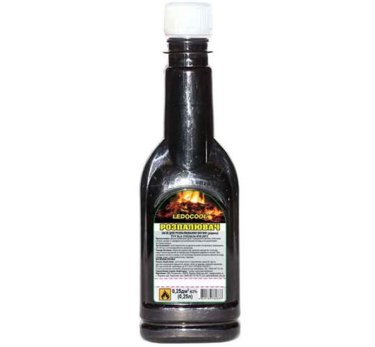 Разжигатель для угля (жидкость) TM LEDOCOOL  250мл.