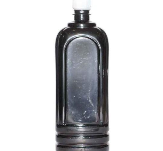 ПЭТ бутылка Ledocool черная 1000 мл.