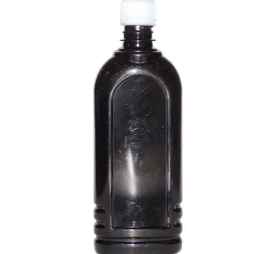 ПЭТ бутылка Ledocool черная 500 мл.