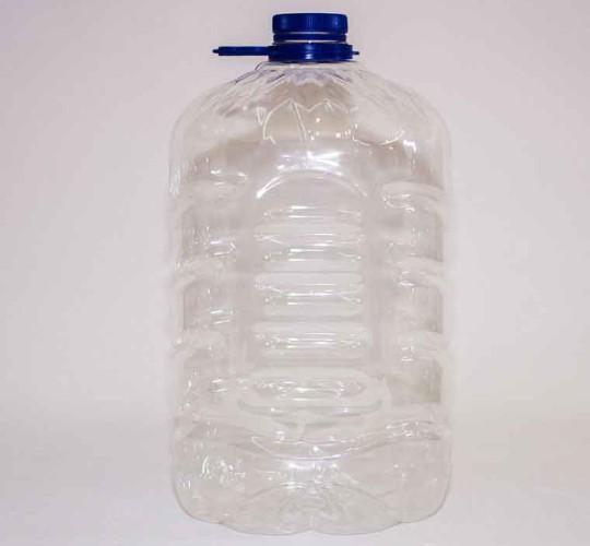 ПЭТ бутылка Ledocool прозрачная 7000 мл.
