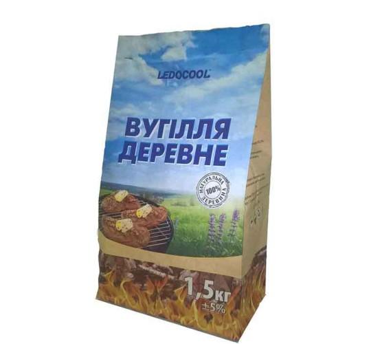 Уголь древесный TM LedoCool 1,5 кг.