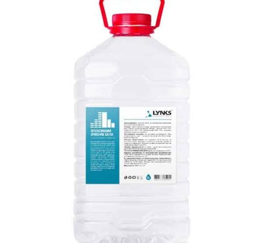 Интенсивный очиститель стекол с антистатическим эффектом ТМ LYNKS LABORATORIES, 5л.