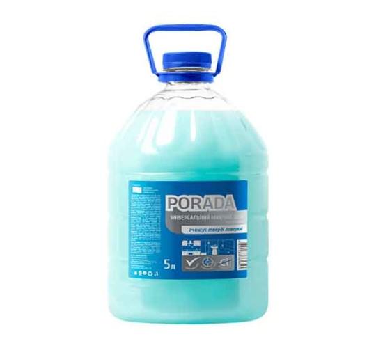 Средство для мытья сантехнического оборудования ТМ PORADA 5л.