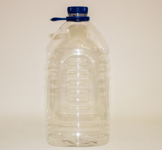 ПЭТ бутылка Ledocool прозрачная 4000 мл