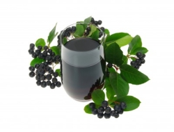 Концентрированный сок черноплодной рябины (аронии)